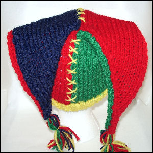 Knitted Hats, Knitted Jester Hat