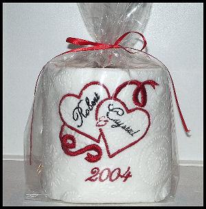Monogrammed Tissue, Personalized Tissue, Bathroom Tissue, Toilet Tissue