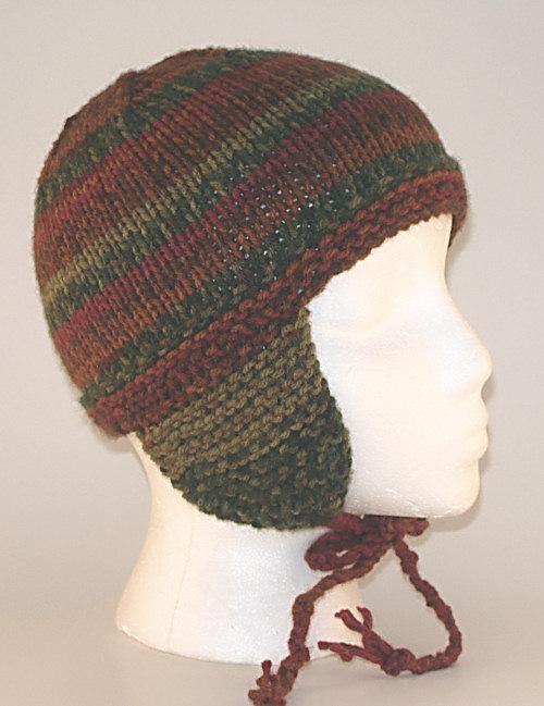 Knitted Earflap Hats, Ear Flap Hats