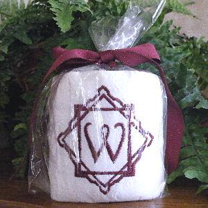 Monogrammed Tissue Personalized Tissue Bathroom Tissue